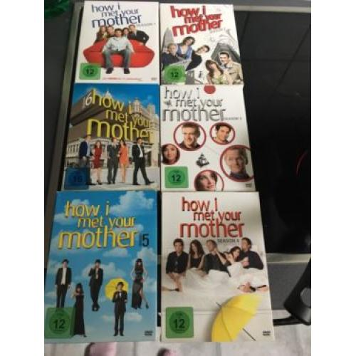 How I Met your mother dvd Staffel 1-6 Serie